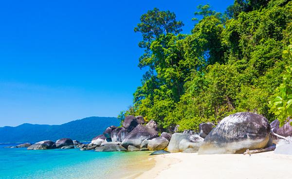 Ko Adang beach near Ko Lipe
