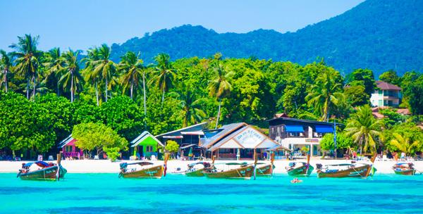 Pattaya Beach Ko Lipe Thailand
