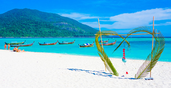 Sunrise Beach Wedding Koh Lipe Thailand