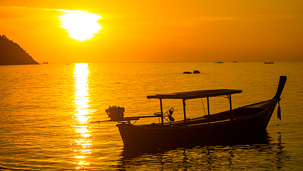 Sunset at Koh Lipe Thailand