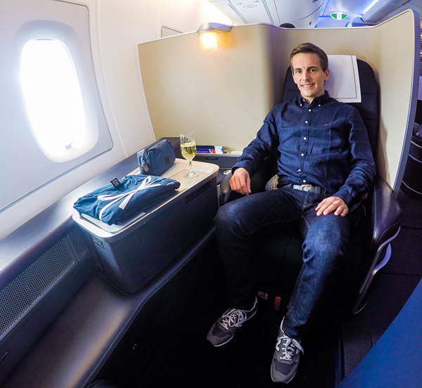 British Airways A380 First Class Bart Lapers