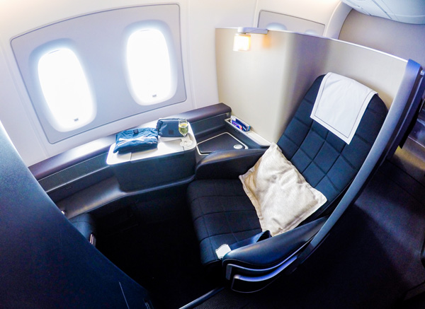 British Airways A380 First Class Seat 3K