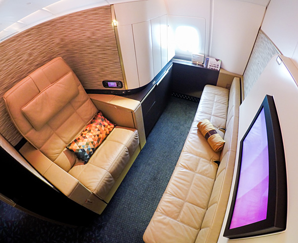 Etihad A380 First Class Apartment 5H