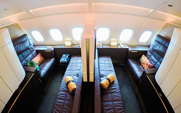 Etihad A380 First Class Apartments 3K and 4K