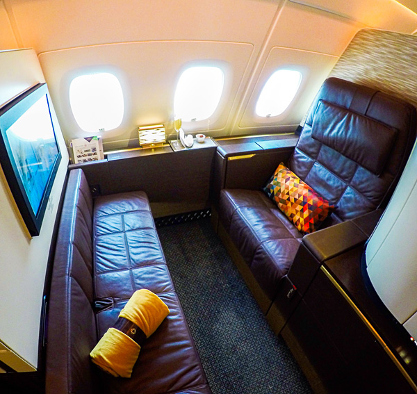 Etihad Airways A380 First Class Apartment 4K