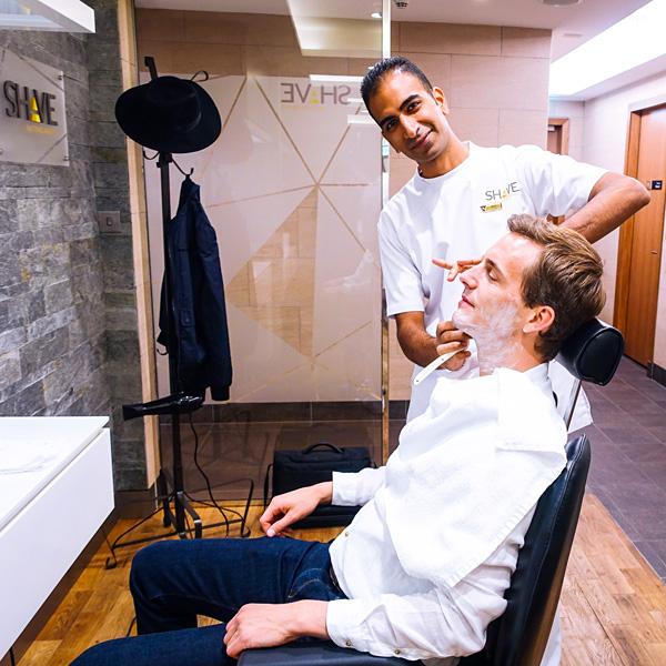 Etihad Airways Shave Service Abu Dhabi