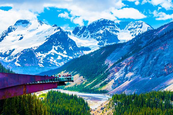 Glacier Skywalk Jasper National Park
