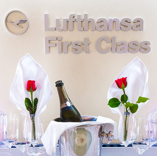 Lufthansa First Class on A330-300