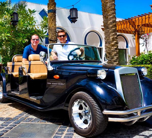 Park Hyatt Dubai transportation