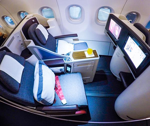 Qatar Airways A320 First Class Dubai to Doha