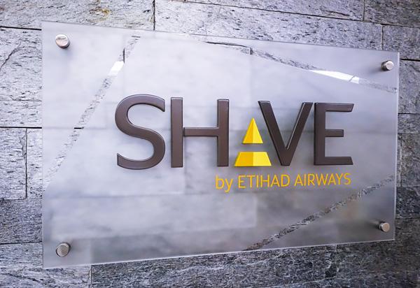 Shave by Etihad Airways Abu Dhabi