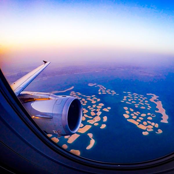 Sunrise at The World, Dubai