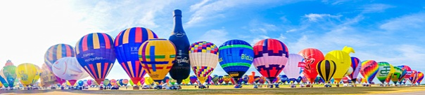 Hot Air Balloons 2015 World Record Lorraine Mondial The Great Line