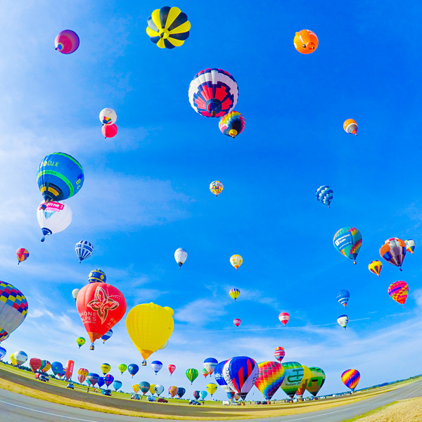 Lorraine Mondial Air Ballons 2015 World Record