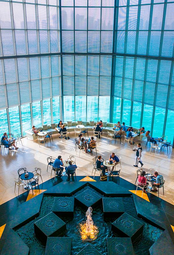 Museum of Islamic Art Doha Qatar Cafe