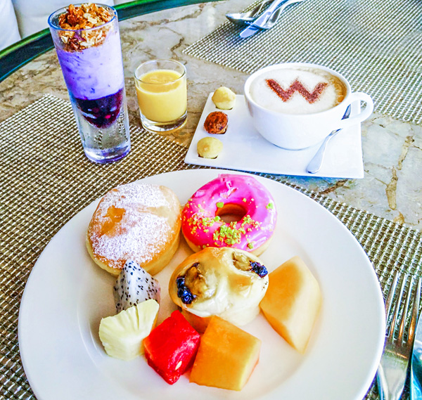 Breakfast at W Retreat & Spa Bali