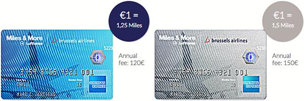 Brussels Airlines American Express Credit Cards Kredietkaarten
