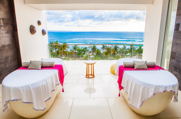 Massage with a view at W Retreat & Spa Bali