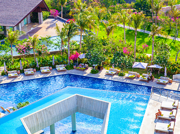 Pool at RIMBA Jimbaran Bali Resort