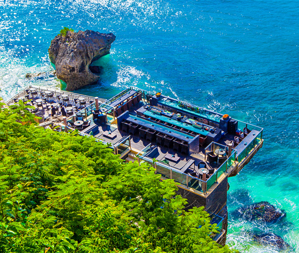 Rock Bar at Ayana Resort in Bali