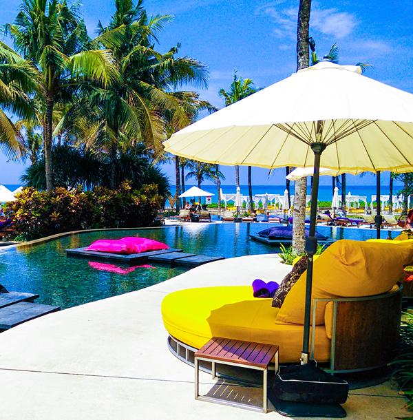 The Pool at W Retreat Spa Bali