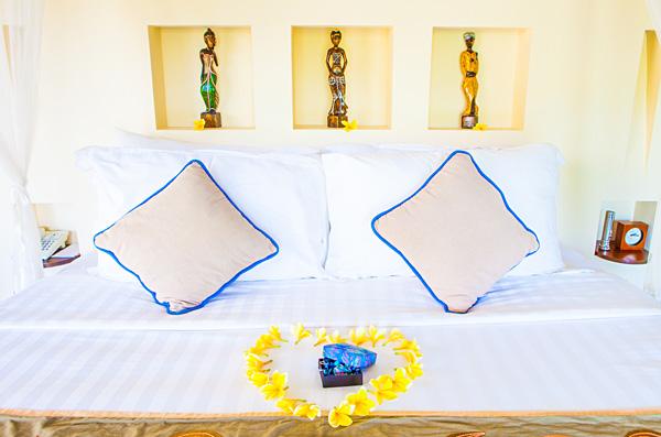 Villa bedroom Hanging Gardens Ubud