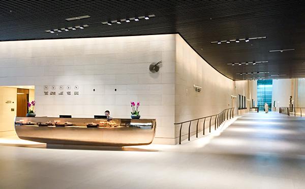 Qatar Airways First Class Lounge Al Safwa Doha Entrance