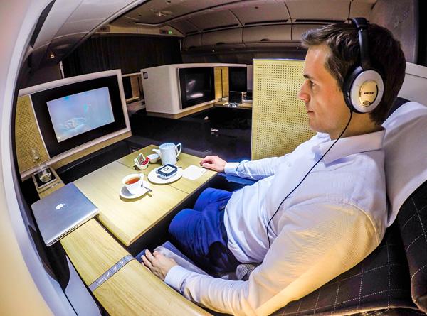 Swiss A330-300 First Class Seat 2A