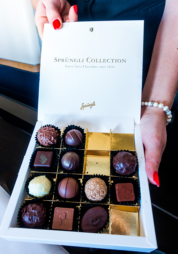 Swiss First Class Chocolates Sprungli Collection