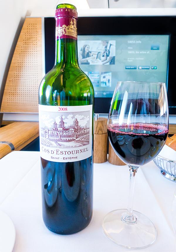 Swiss First Class Red Wine Chateau Cos d Estournel 2008 2eme Cru Classe