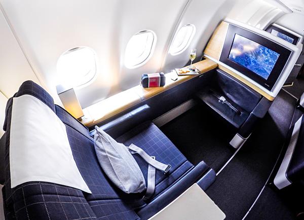 Swiss New First Class A330-300 Seat 2A