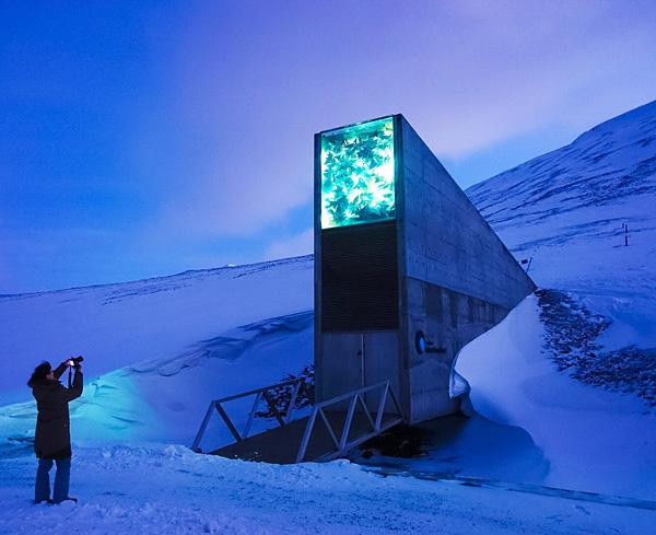 Svalbard Global Seed Vault Spitsbergen