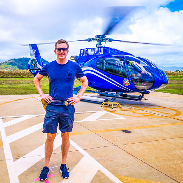bart lapers blue hawaiian helicopters kauai hawaii