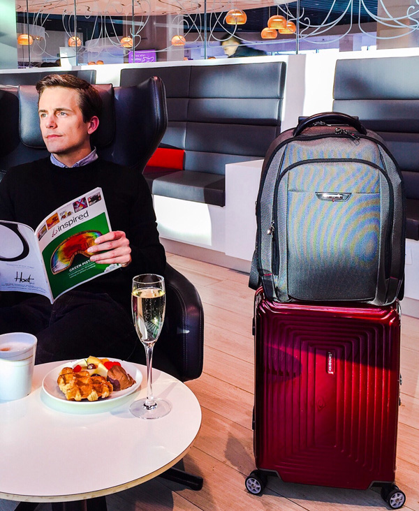Bart Lapers Samsonite Brussels Airlines The Loft