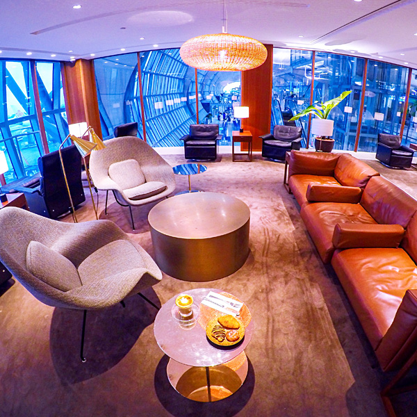 Cathay Pacific Business and First Class lounge Bangkok airport