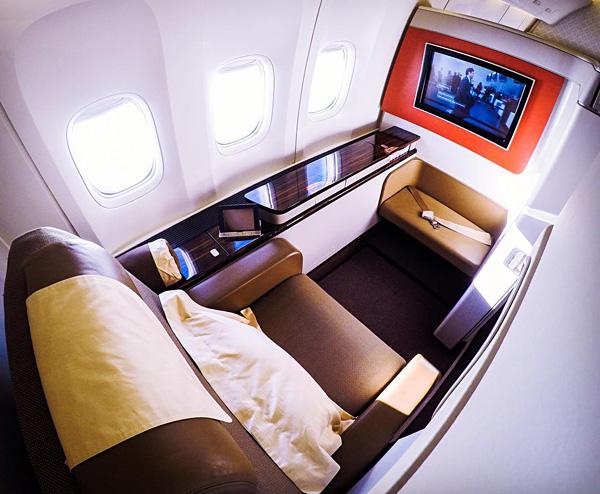 Garuda Indonesia B777-300ER First Class Seat 2A