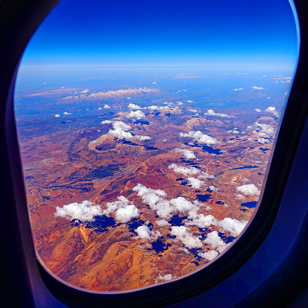 Magical landscapes of Iran seen from my Lufthansa flight from Dubai to Munich