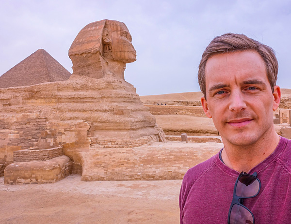 The Great Sphinx of Giza Cairo Egypt Bart Lapers