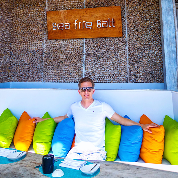 Bart Lapers at Anantara Uluwatu Sea Fire Salt restaurant
