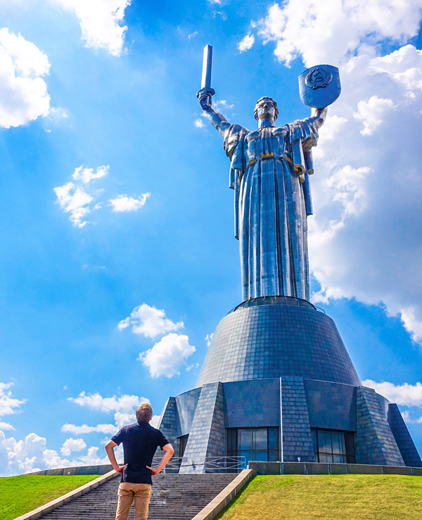 Bart Lapers Mother Motherland Kiev Ukraine