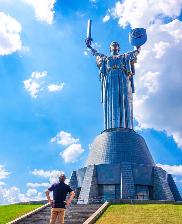 Bart Lapers Mother Motherland Kiev Ukraine