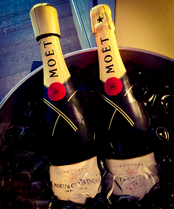 Complimentary Moet Champagne Lounge Crowne Plaza Barcelona Fira Center