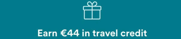 44 euro free travel credit for airbnb business stay