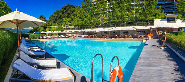 InterContinental Geneva Pool overview