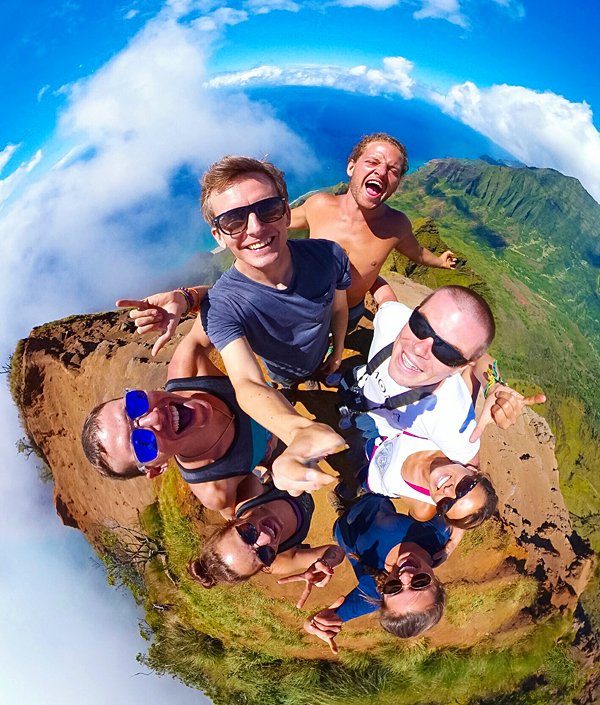 Kalalau lookout hidden trail Kauai