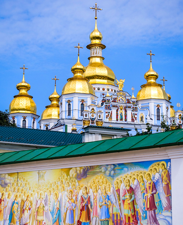 Kiev St-Michaels Golden Domed Monastery