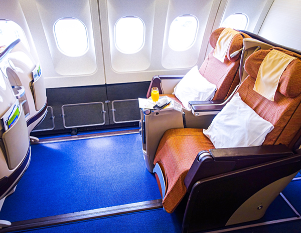 Philippine Airlines Business Class A340-300 Manila London