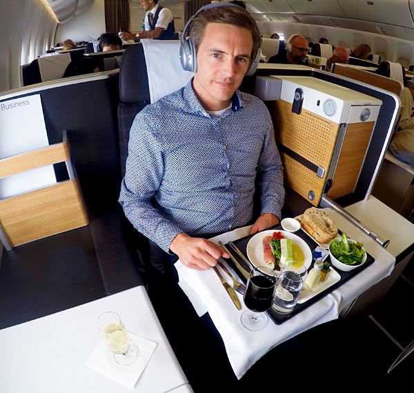 SWISS new B777-300 Business Class Bart Lapers