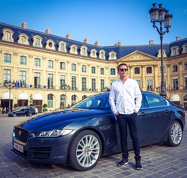 Autumn Weekend Paris Jaguar XE Place Vendome Ritz Hotel