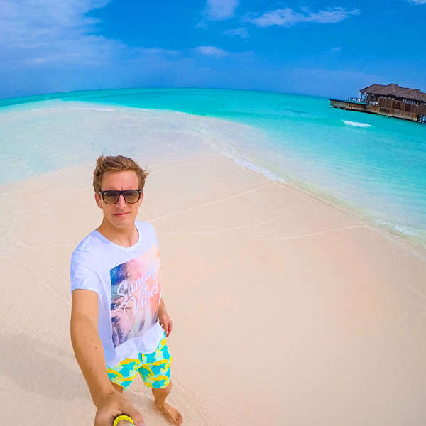 Bart Lapers at Conrad Maldives Rangali Island